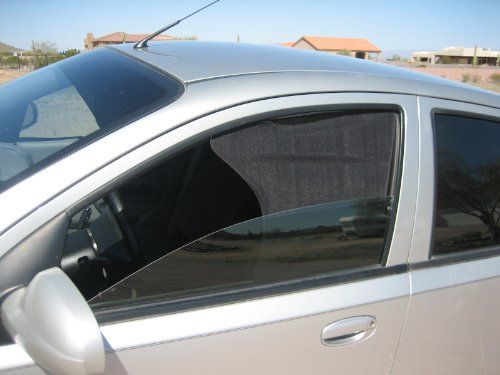 UpShade - Car or Truck Front Side Window Shade - Small Front Size - 1 Pair