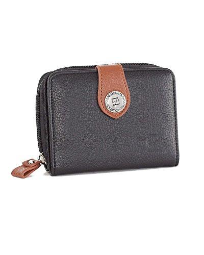 stone-mountain-usa-small-zip-around-leather-wallet-black-tan-one-size