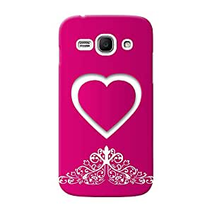 INKIF Van Painting Designer Case Printed Mobile Back Cover for Samsung Galaxy Ace 3 (Pink )