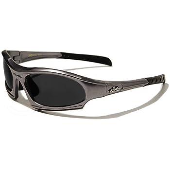 X-Loop Lunettes de Soleil - Sport - Cyclisme - Ski - Conduite - Moto - Plage / Mod. 5101 Gris Anthracite / Taille Unique Adulte / Protection 100% UV400
