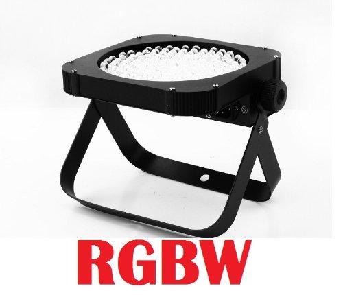 Led Slim Flat Rgbw Par 64 Can Puck Style Dmx Dj Uplighting Light
