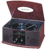 DENON 音聴箱 卓上型プレーヤー 木目 GP-S30