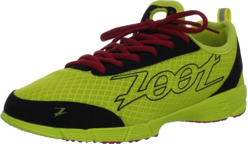 ZOOT Kiawe Men's Running Shoe, Yellow/Black, UK9.5