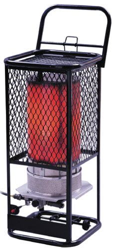 B0000C6E3C Mr. Heater F270800 125,000 BTU Portable Propane Radiant Heater
