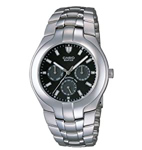 Casio Men's EF304D-1AV Multifunction Analog Bracelet Watch