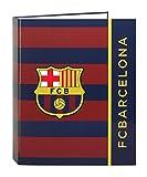 F.C. Barcelona - Carpeta folio, 4 anillas (Safta 511529657)