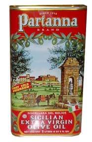 Partanna Extra Virgin Olive Oil, 3Liters