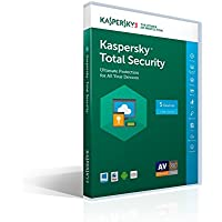 Kaspersky Lab Kaspersky Total Security 2017 - 5 PCs (Key Card)