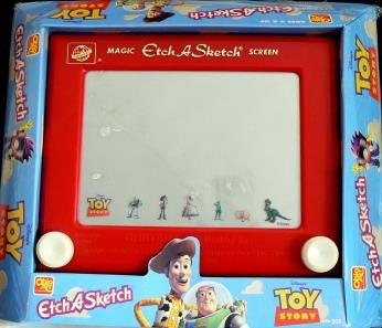 TOY Story - Etch A Sketch - Magic Screen