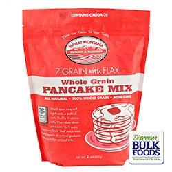 7 Grain with Flax Pancake Mix Gmo-free 2#