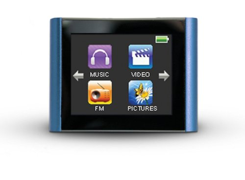 Eclipse T180 BL 1.8-Inch 4 GB Touchscreen MP4 Video Player (Blue)