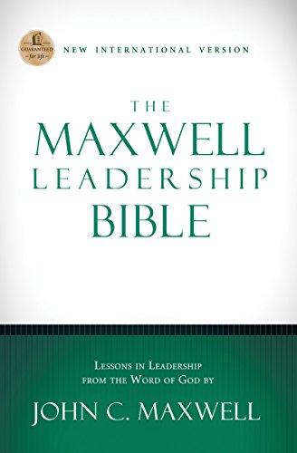 Download NIV, The Maxwell Leadership Bible, eBook
