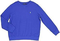 Polo Ralph Lauren Men's Crewneck Pullover Shirt [2XL] [Sapphire Blue]