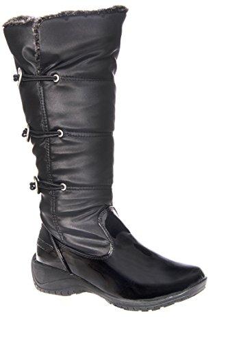 Abigail Mid Calf Snow Boot