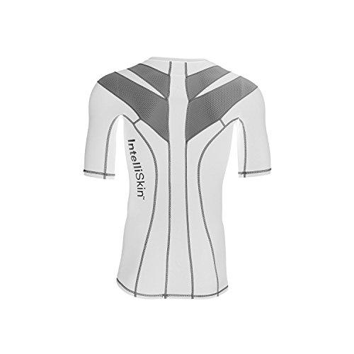 IntelliSkin Foundation 2.0 Men's Shirt - White Silver Burst (Intelliskin Llc compare prices)