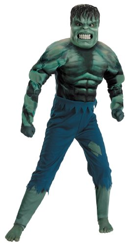 Hulk Movie Quality Muscle Chest Child Marvel