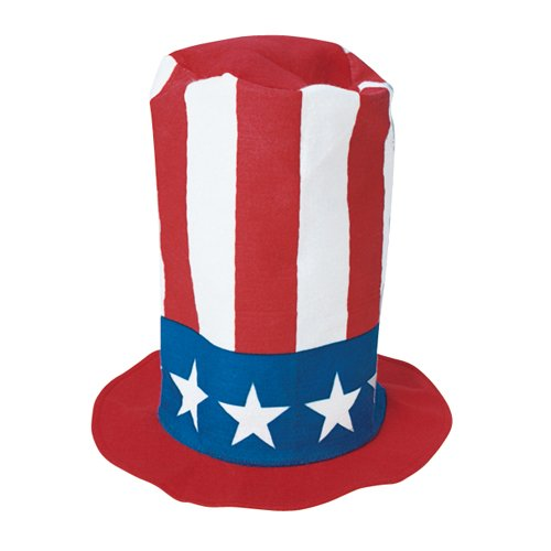 Patriotic Stove Pipe Hat - 1