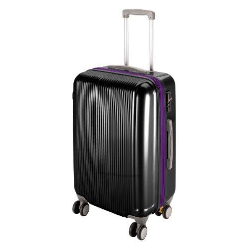 キャプテンスタッグ(CAPTAIN STAG) グレル トラベルスーツケース TSAロック付きWFタイプ L ブラック UV-31