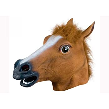 QUEENSHINY 馬のマスク 江南スタイル