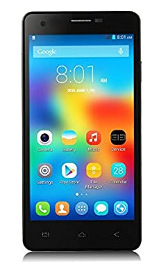 "Calibarr 5"" 1.6 Quad Core High Performance 3G Dual SIM Smart Phone-Black"