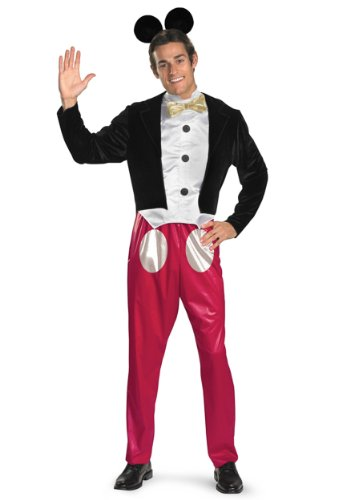 Disguise Mens Disney Mickey Mouse Theme Party Fancy Dress Costume