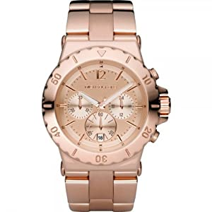 Michael Kors Mk5314 Ladies Watch with Rose Gold Bracelet and Rose Gold Dial