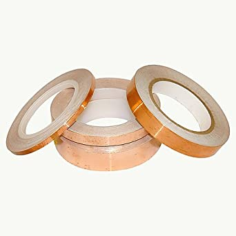 JVCC CFL-5CA Copper Foil Tape (Conductive Adhesive) (36 yds. long)