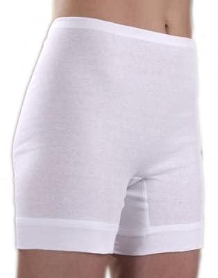 HERMKO 1900 Damen Schlüpfer mit längerem Bein aus 100% EU-Baumwolle; Unterhose mit Tunnelzug und elastische Rippenbörtchen am Beinabschluss from HERMKO