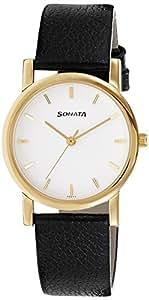 Sonata Analog White Dial Men's Watch - NH7987YL02CJ