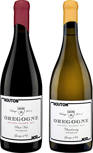 "Mouton Noir ""Taste Of Oregon"" Mixed Pack Of Pinot Noir & Chardonnay, 2 X 750 Ml"