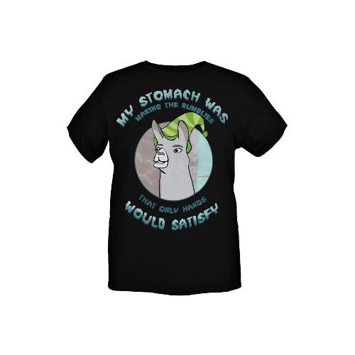 Amazon.com: Llamas With Hats Rumblies Only Hands Satisfy T-Shirt