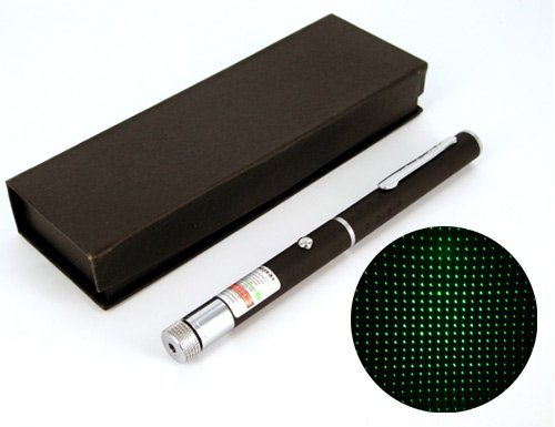 Military Grade Green (532 nm) Laser Pointer, 5 mW
