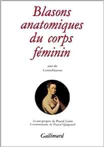 Amazon.fr Blasons anatomiques du corps féminin / Contre blasons de