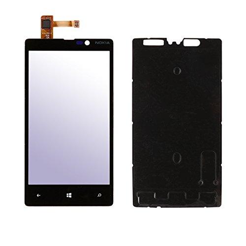 Ricambio vetro frontale con schermo touch screen + strumento Per Nokia Lumia 820