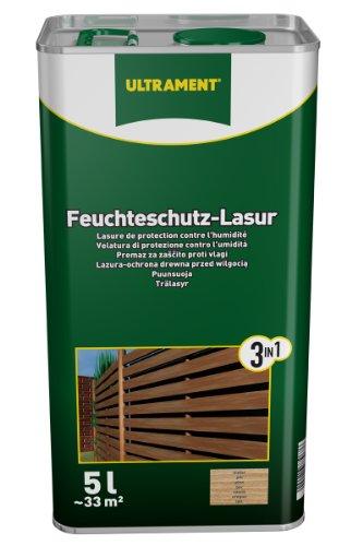 Ultrament 68248980195208 - Barniz de protecci�n total 3 en 1 para madera de teca (5 L)
