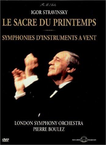 Stravinsky - Le Sacre du Printemps (The Rite of Spring) / Symphonies D'Instrument Vent / Boulez, London Symphony Orchestra