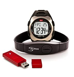 MIO 0034USBLK Energy Pro with FitStik Strapless Heart Rate Watch