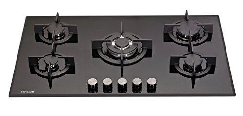 millar-gh9051pb-90cm-5-fornelli-in-vetro-piano-cottura-a-gas