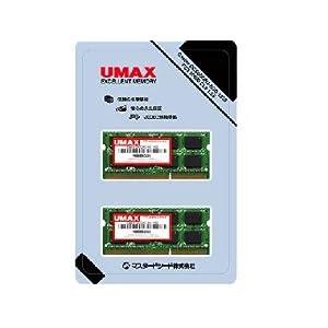 UMAX Castor DCSoD3-16GB-1333 (8GB×2 計16GB) ノート用 SO-DIMM DDR3-1333