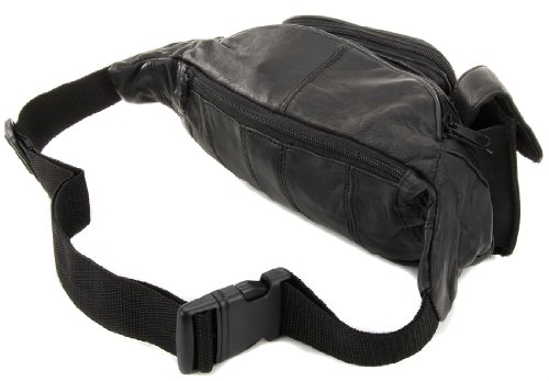 ... about Leather Waist Hip Fanny Pack Bag with Cell Phone Pocket New