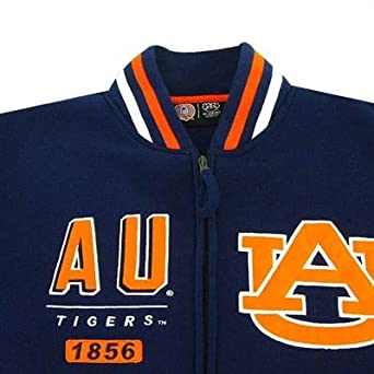 NCAA Auburn Tigers Mens Block Fleece Jacket by MTC Marketing