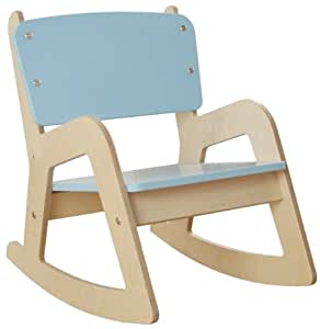 Millhouse Childrens Wooden Rocking Chair (Blue): Amazon.co.uk: Toys ...