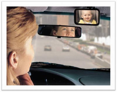 Rear Facing Baby Mirror
