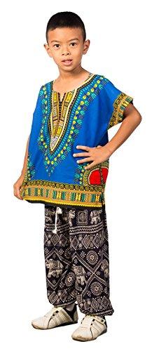 Lofbaz-Unisex-Child-Traditional-African-Printed-Dashiki