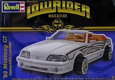 1992 Mustang GT Convertible Lowirder by Revell