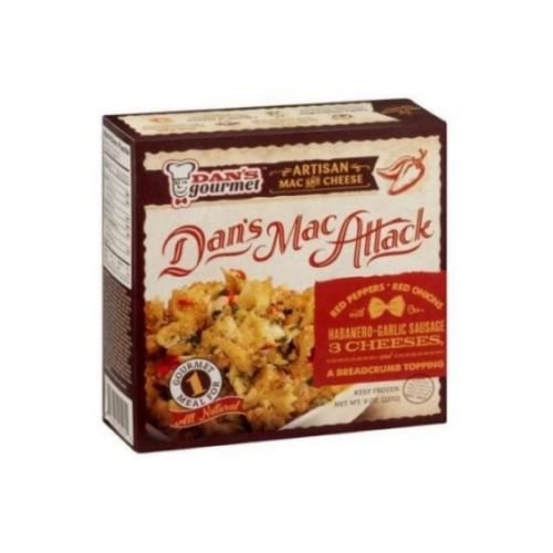 Dans Gourmet Mac Attack Artisan Macaroni and Cheese, 9 Ounce -- 8 per case. (Macaroni And Cheese Topping compare prices)