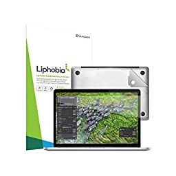 Gilrajavy Full Cover Liphobia Macbook Pro Letina15 Laptop Screen Protector +Surface Film Kit