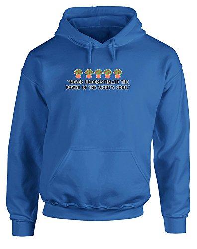scouts-code-hoodie-imprime-bleu-blanc-transfert-2xl-127-132cm