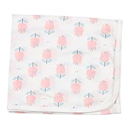Dalpong Honey Single Layer Cotton Swaddle blanket Baby nursery-receiving Pink