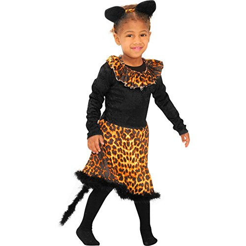 Kid's Cat Costume (Size: Medium 8-10)